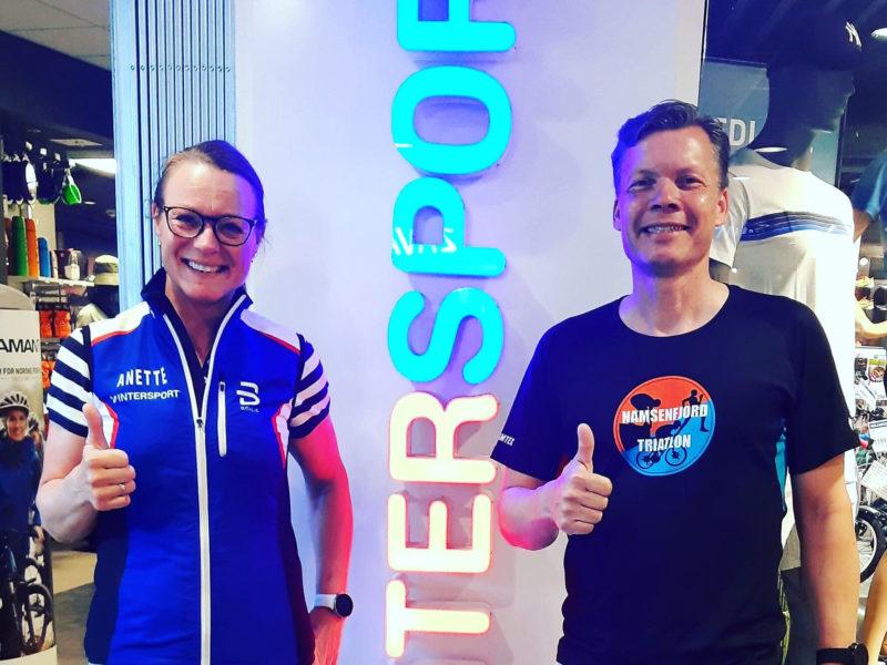 Takk til PlusCamp Namsos og Intersport Namsos